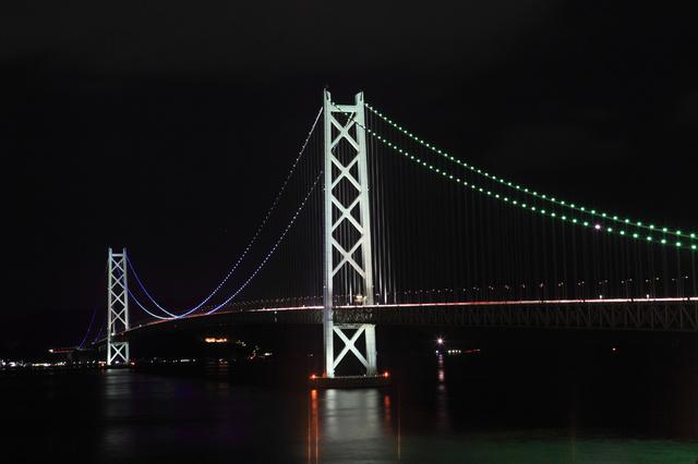 江崎灯台(明石海峡夜景)