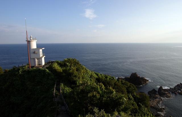 浜坂港矢城埼灯台