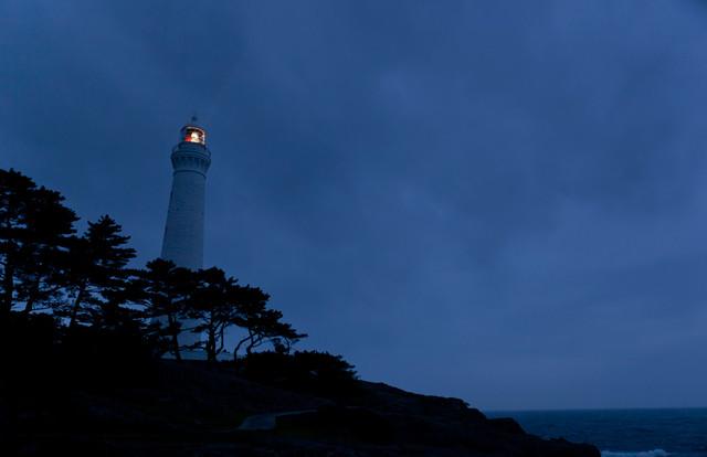 日御碕灯台(夜)