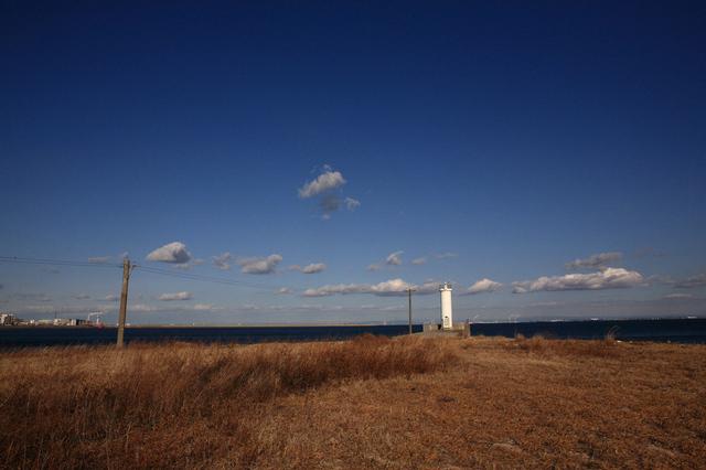 磯津港南堤防灯台
