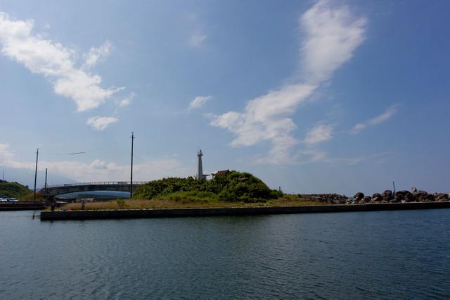 金浦魚港灯台