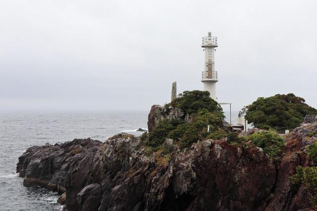 長崎鼻灯台(鹿児島県)
