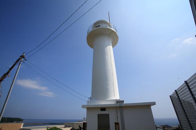 能登小木港犬山灯台