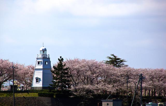 旧境港灯台