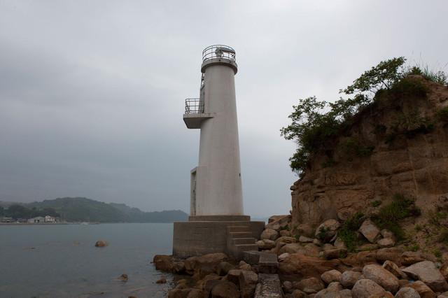 牛窓港灯台